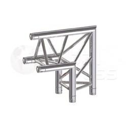 Global Truss Structure série F33 - Angle F33C24 90° 2 Départ 50cm