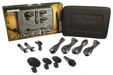 Kit micros batterie Shure PGA DRUMKIT 4