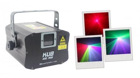Laser BoomTone DJ KUB 400 RGB