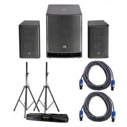 Système amplifié LD System Dave18G3 BUNDLE