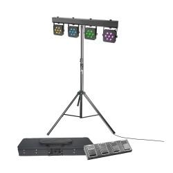 Pack Projecteurs à LED CAMEO CLMPAR2SET3