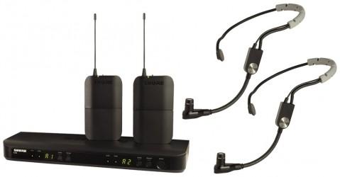 Micro double fitness Shure BLX188E SM35
