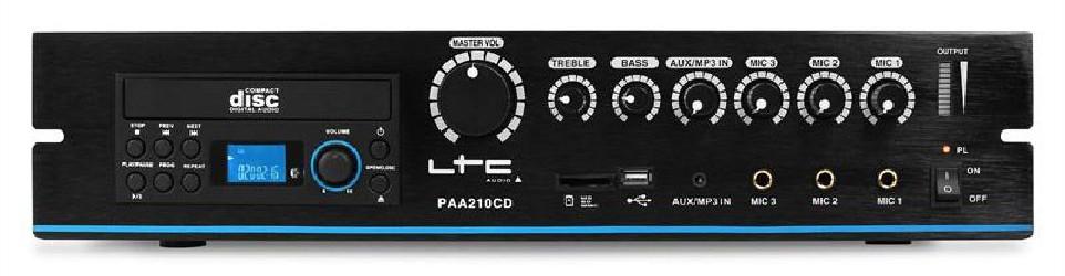Amplificateur Public Adress LTC Audio PAA210CD