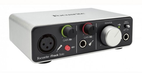 Cartes Son Focusrite iTrack SOLO Lightning
