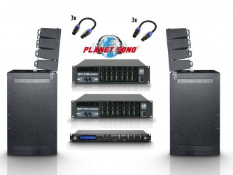 Pack sono line array LD Systems