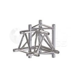 Global Truss Structure série F33 - Angle F33C44 Croix 4D 50cm