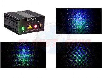 Laser multipoint et gobo ibiza LZR300RGB GOBO