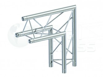 GLOBAL TRUSS SERIE F23 ANGLE 2D 50CM APEX UP