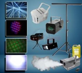 Pack jeux de lumière à led Pack Lights NIGHT6