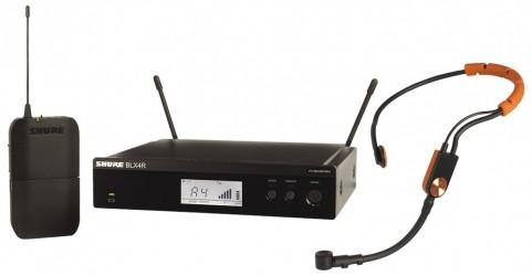Micro sans fil fitness Shure BLX14RE SM31