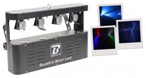 Scanner à leds boomtone Dj QUATTRO SCAN LED