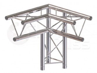 Global Truss Structure série F23 - Angle F23C31 Angle 3D 50cm