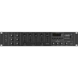 Table de mixage audio stéréo 6 canaux STAGE LINE MPX-622/sw