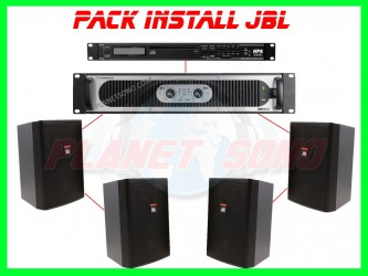 Pack installation Bar / chicha  / petit commerce Install JBL