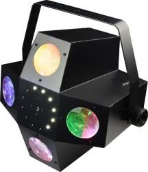 Jeux de lumière à leds +strobe+laser Afx Light COMETFX