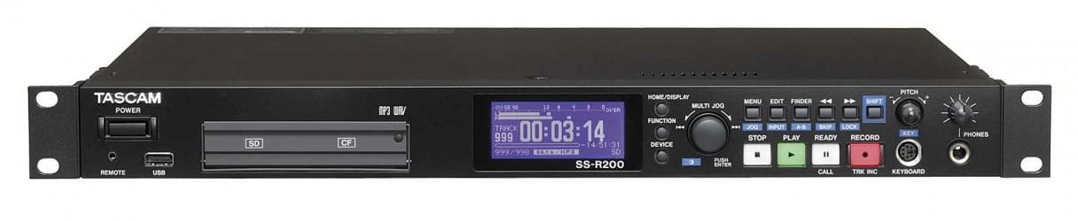 Enregistreur audio sur carte mémoire TASCAM SS R200