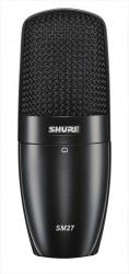 Micro à condensateur Shure SM27