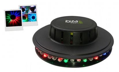 Jeux de Lumière à Leds Ibiza UFO BL
