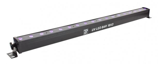 Barre de lumière noire BoomtoneDJ UV LED BAR 18X3