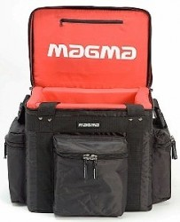 Sac de transport pour vinyles Magma LP BAG 60 Profi Black/Red