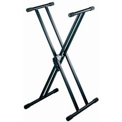 Pied en X double Stand Clavier Adam Hall Stands SKS 03
