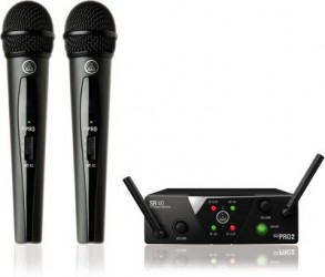 Micro double sans fil AKG Mini WMS 40 Dual Vocal