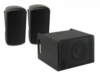 Système triphonique amplifié Audiophony MIO Systema1b