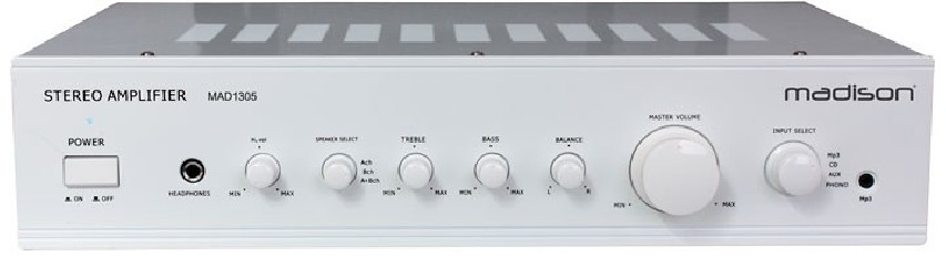 Amplificateur stéréo Madison MAD1305WH