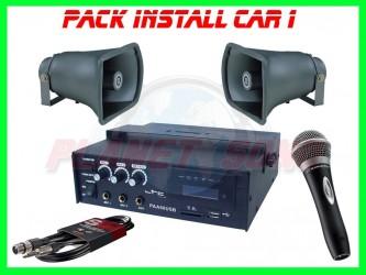 Pack installation voiture / manifestation Install CAR 1