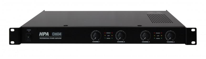 Amplificateur 4 canaux HPA D604
