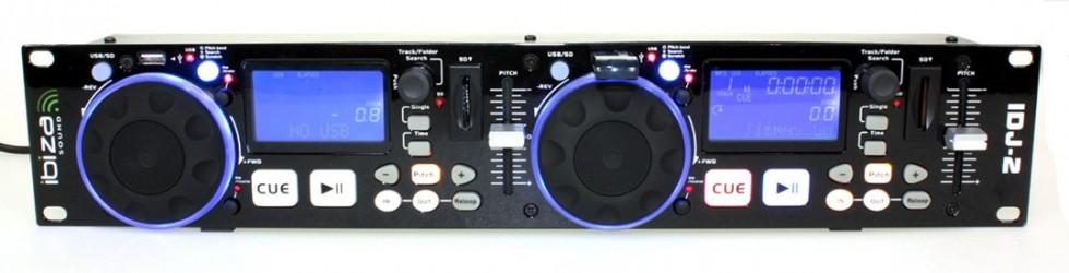 Double controleur USB/SD Ibiza IDJ2