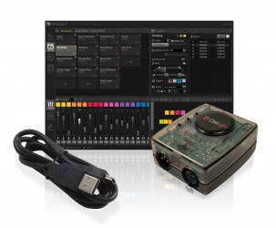 Interface USB DMX Daslight DVC4 GOLD