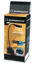 Eclairage régie Audiophony sur secteur led