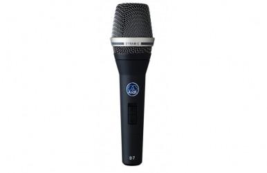 Micro chant à fil avec interrupteur AKG D7s