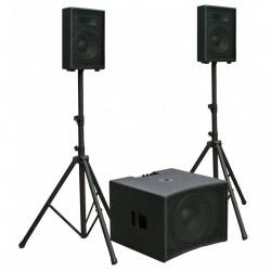 Système de Sonorisation Amplifié JB Systems CPX1510 Full Set