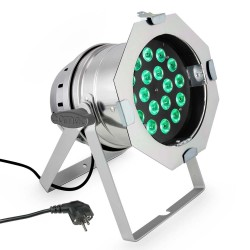 Projecteur à LED Cameo PAR64 CAN Q 8W PS