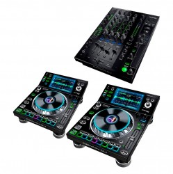 Pack Platines + Mixeur Denon PRIME PACK