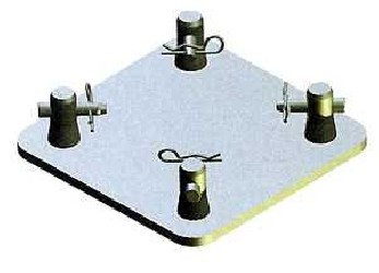 Global Truss Structure série F14 - Base Plate Black