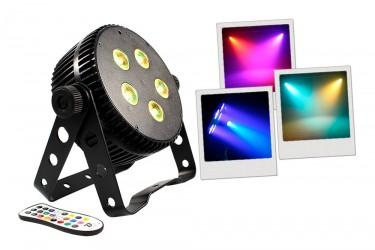 Projecteur à led Boomtone Dj SILENTPAR 5x10 5in1