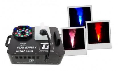 Machine à fumée verticale Boomtone Dj SPRAY 1500 RGB
