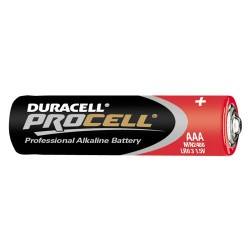 PILE 1.5 VOLTS LR03 AAA 	 Duracell Procell